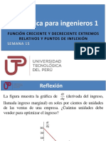 PPT Semana 15 Ses 29 Función creciente y decreciente extremos relativos y puntos de inflexión.pdf