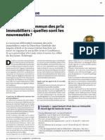 Nouveautés Du Référentiel Commun Des Prix Immobiliers_ M Mohamed Chorfi_ EC CAC Formateur