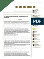 Os verbos inacusativos e as suas implicações sintáctico-semânticas.PDF