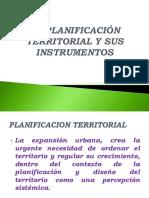Planificacion territorial y sus instrumentos
