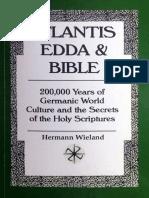 Atlantis, Edda and Bible - Hermann Wieland