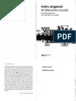 MARC ANGENOT - EL DISCURSO SOCIAL (CAP1 Y 2)