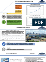 supply chain with comparison TAT steel vs Bhilai plant.pptx