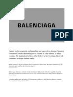 Word Balenciaga