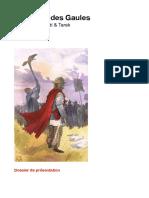 Dossier Guerre des Gaules