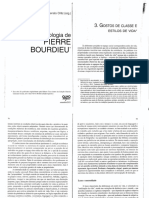 252644551 BOURDIEU Pierre Gostos de Classe e Estilos de Vida PDF
