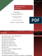 El sistema operativo LInux. Conceptos básicos