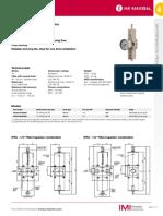 Filtro Regulador IFR4 MAXSEAL