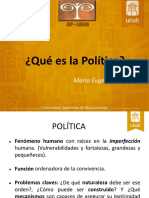 Clase 1. La Política