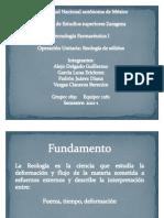 TF1 Operacion Unitaria- Reologia