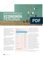 Proyección de La Economía Peruana 2019 2020