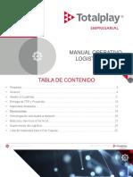 Manual de Operaciones Logistica Empresarial 2019-2