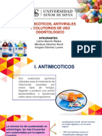 ANTIMICOTICOS Y ANTIVIRALES