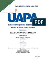 Las normas e instituciones que regulan el transporte en la Republica Dominicana..docx
