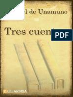 Tres Cuentos-Unamuno Miguel