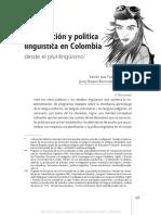 Planificación y Políticas Lingüisticas