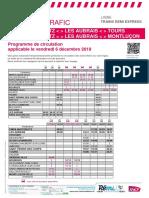 Info Trafic - Trains Region Centre-Val de Loire_ter Du 06-12-2019