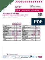 Info Trafic Orleans-Vierzon-bourges (Nevers) Du 06-12-2019