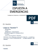 Respuesta a Emergencias (2019 - Cusco)