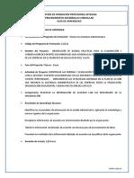 Guia de Aprendizaje - Presentar Los Resultados de La Información Tabulada