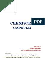 Chemistry Capsule _ Spandnam