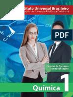 Capa Quimica 1ª Série