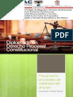 2. Presupuestos procesales de    viabilidad del amparo II Sesion.pptx