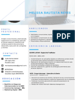 Curriculum Melissa Bautista