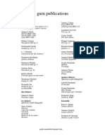 Gum Publications Catalogue