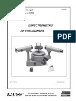 Student Spectrometer Manual SP 9268A.en.Es