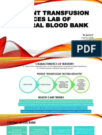 Patient Transfusion Testing Industry