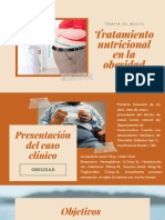Tratamiento Nutricional en La Obesidad