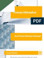 Unitarias prensa hidráulica