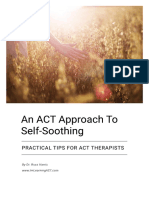 An ACT Approach to Self-Soothing (1)