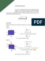 Practica de Leyes de Newton Poleas