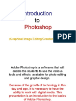 Graphics Editing - Introduction to Photoshop