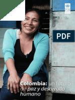 Reporte IDH 2018 Colombia Un Futuro de Paz y Desarrollo Humano