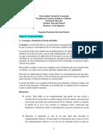 Segundo Parcial de Derecho Penal I UCV