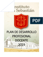 II Plan de Desarrollo Profesional Docente 2019