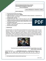 GUIA N° 1 PRINCIPIOS Y VALORES