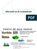 Alternativas tratamiento