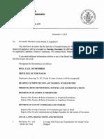 Jefferson County Board of Legislators Dec. 10, 2019 agenda