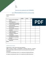 Cuestionario de Conducta de CONNERS