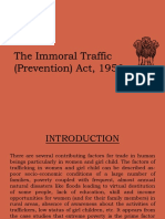 Immoral traffic (Prevention) act, 1956.pptx