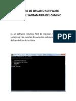 Manual de Usuario Software Hospital Santamaria Del Camino