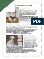 Biografía de Aristoteles