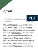 Afridi - Wikipedia.pdf