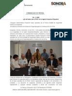 14-11-19 Se fortalece estado de fuerza de la PESP en la región Guaymas-Empalme