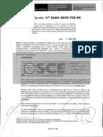 RESOLUCION N°164-2019-TCE-S4 (RECURSO APELACION) (no debe ser obligatorio las visitas)