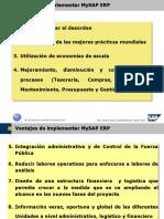Ventajas de Implementar MySAP